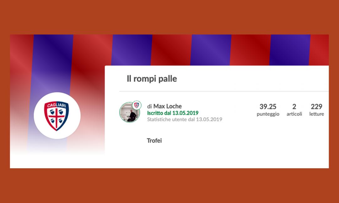 Maggio agli sgoccioli; un debuttante del Cagliari, mentre Pippo Russo premia...