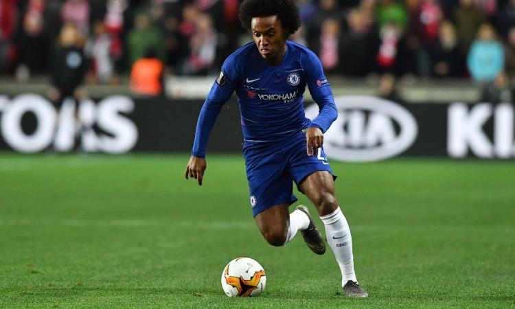 Willian allontana il Barcellona: pronto il rinnovo col Chelsea
