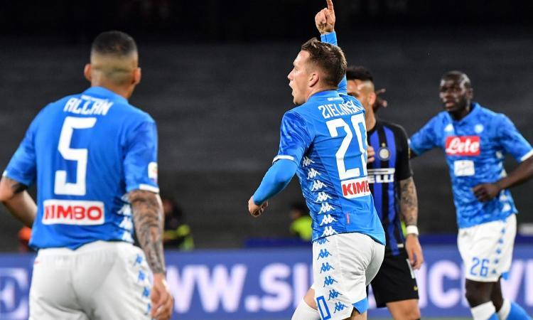 Inter, 4 schiaffi dal Napoli e Champions a rischio: ora è quarta, a +1 sul Milan
