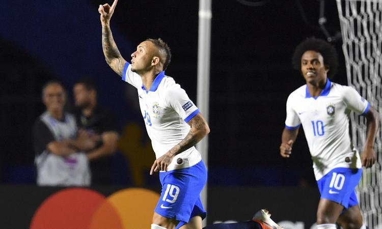 Everton incanta col Brasile in Coppa America: la posizione del nuovo Milan