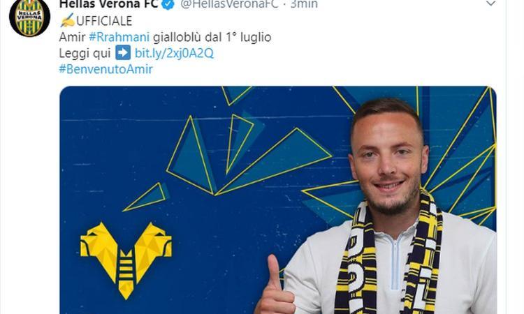 Verona, ecco Rrahmani: 'La Serie A è un passo avanti, ecco il mio numero di maglia'