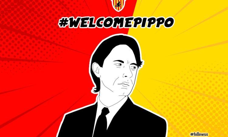 Benevento, Inzaghi: 'Felice dello spirito di squadra. Da Ancelotti c'è sempre da imparare'