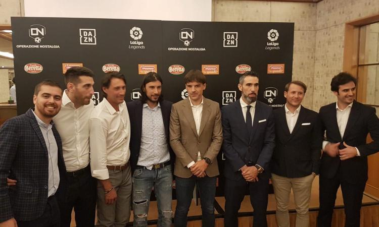 Da Del Piero e Recoba a Morientes: presentata Operazione Nostalgia Stars vs LaLiga Legends, il 6 luglio a Cesena