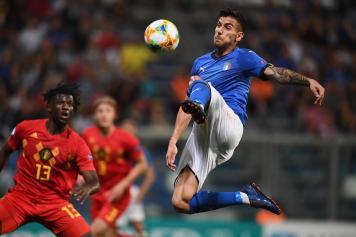 Pellegrini Italia U21 colpo volante