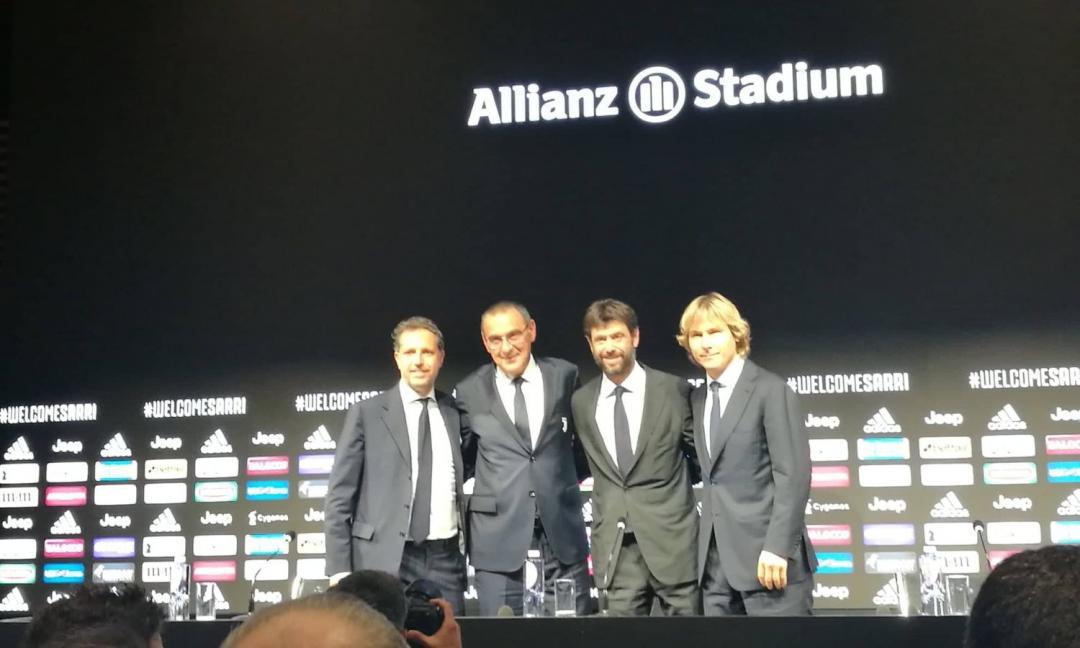 Juventus: ecco lo staff di Sarri