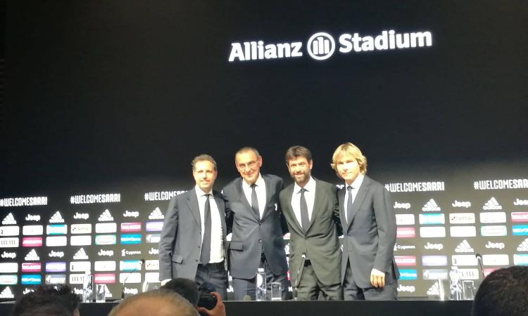 Dici Napoli e lui suda: Sarri alla Juve, Che Guevara è diventato Andreotti