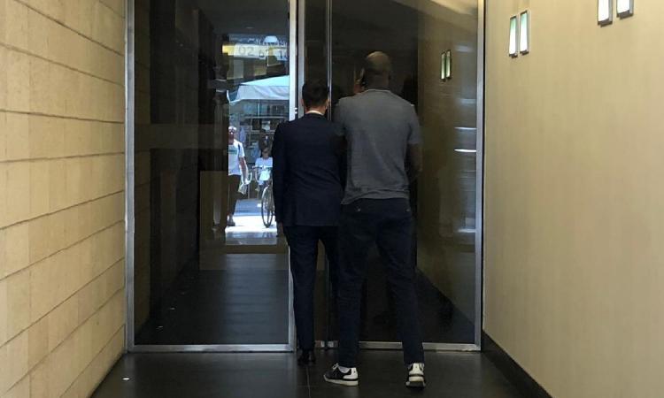 Inter, incontro con l'agente di Agoumé