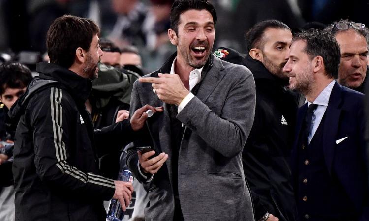 Buffon alla Juve, l'agente: 'Operazione simpatica, se parte Perin... Più pagato dopo Ronaldo? Stupidaggini!'