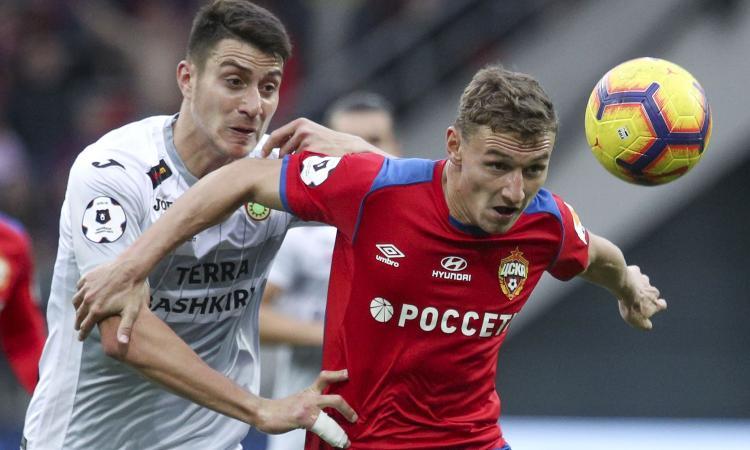 Cska Mosca, cinque big di Premier League sulla stella Chalov