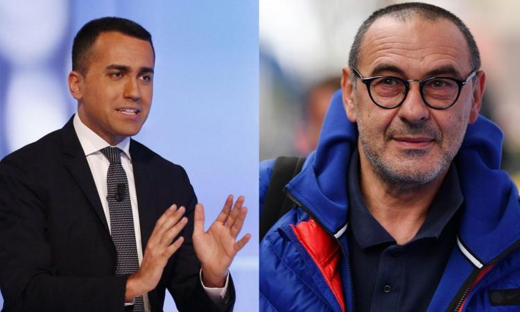 Di Maio e il vincolo di mandato: ma quale Juve, Sarri sarebbe dovuto restare in banca!