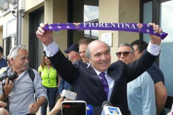 commisso, fiorentina, sciarpa, 2019