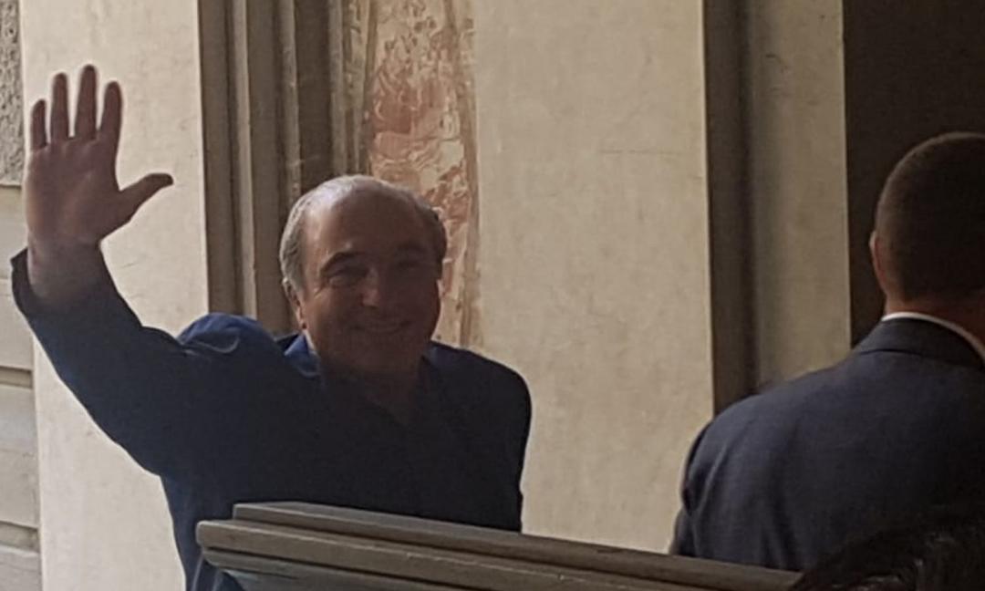 Il presidente della Fiorentina... che tifa Juve