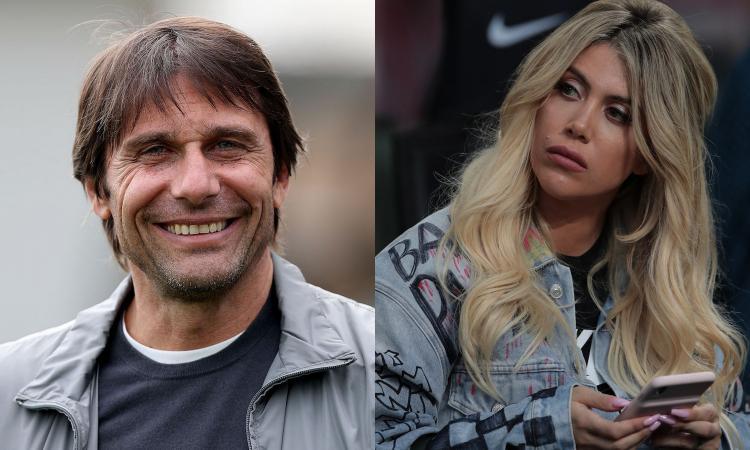 Retroscena Inter! Wanda chiama Conte, ma la posizione non cambia: Icardi è fuori dal progetto