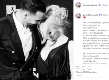 Pamela Anderson rompe con Rami: 'Peggio di un mostro' FOTO e VIDEO