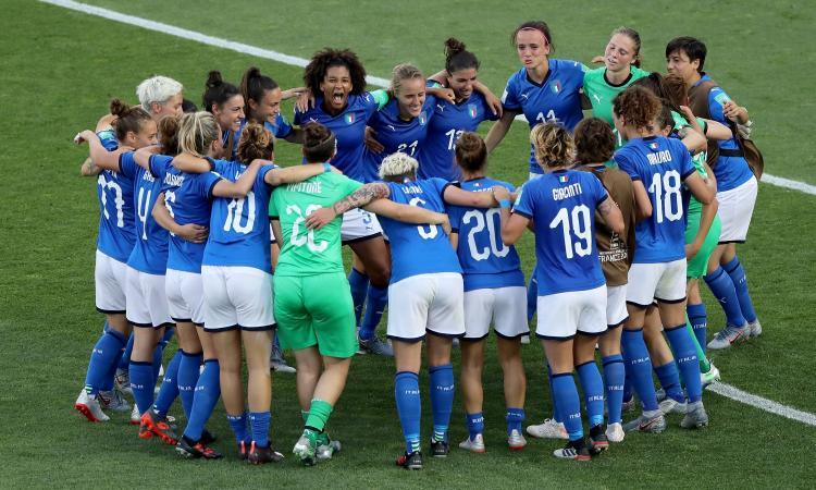 Italia femminile, Azzurre ricevute dal presidente della Repubblica Mattarella