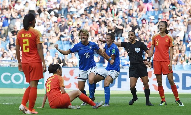 Italia femminile, Giacinti: 'Un sogno che si avvera. Inzaghi o Cutrone? Vorrei mi paragonassero a Morata!'