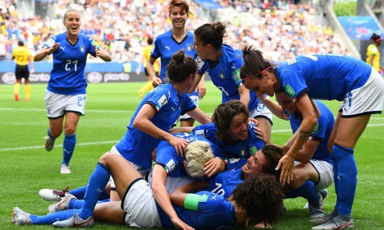 Mondiali femminilie: Italia, la cinquina alla Giamaica vale gli ottavi di finale!