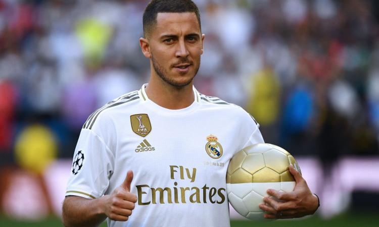 Real Madrid, in 60mila al Bernabeu per Hazard: solo con Ronaldo furono di più