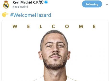 Real Madrid: ufficiale la data della presentazione di Hazard