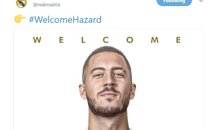 Hazard: 'Il mio più grande sogno era giocare per il Real Madrid e finalmente sono qui' VIDEO