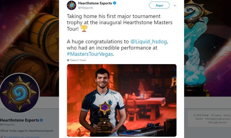 Heartstone Master Tour Las Vegas: 1° posto e 100mila dollari a dog, tre italiani in top 100. Ma quanti problemi!