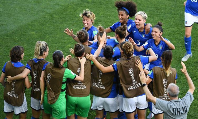 Italia femminile: ascolti pazzeschi per la vittoria contro la Cina