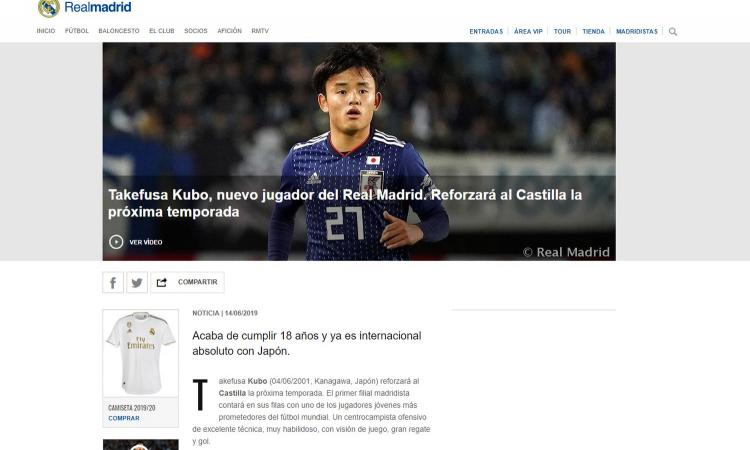 Chi è Kubo, il Messi giapponese che il Real Madrid ha strappato al Barcellona