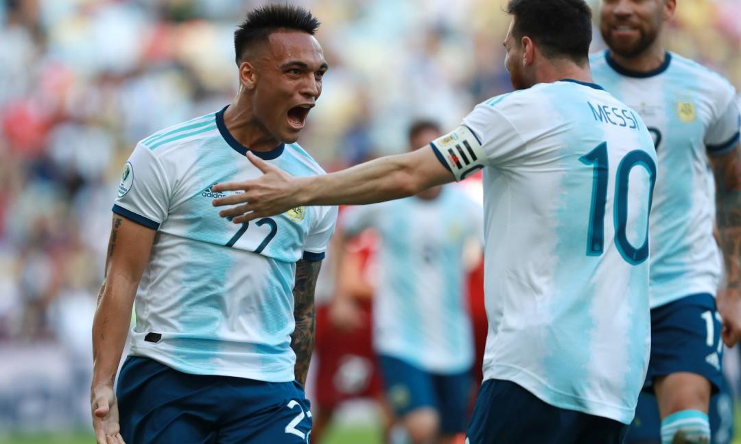La coppa America regala all'Inter un nuovo Lautaro Martinez