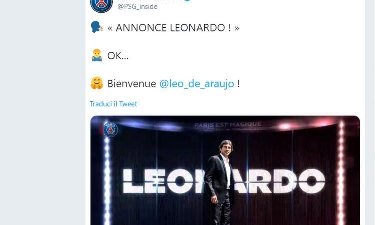 Psg, UFFICIALE: Leonardo nuovo ds: 'Sono entusiasta, ho grande energia'