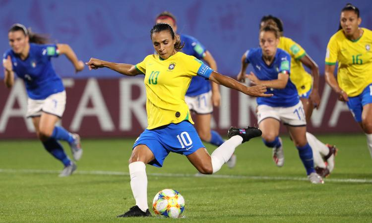 Mondiale femminile: 1-0 Brasile, ma l'Italia passa agli ottavi come prima
