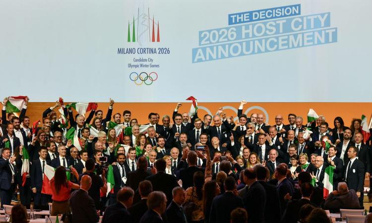 UFFICIALE: Olimpiadi invernali 2026 a Milano-Cortina!