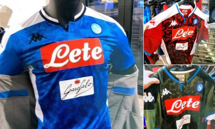 Napoli, spuntano le prime anticipazioni sulle nuove maglie FOTO