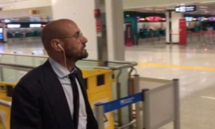 Roma, Petrachi ascoltato in Procura per il caso Dzeko