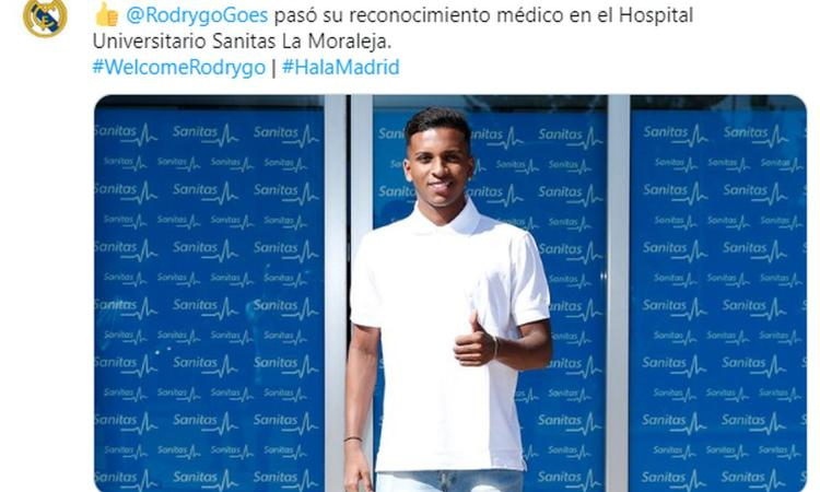 Real Madrid, Rodrygo si presenta: 'Non sono il nuovo Neymar' VIDEO