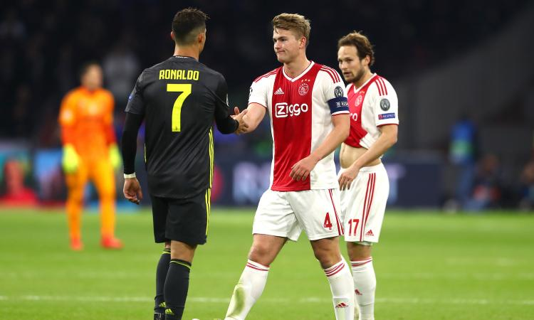 Image result for de ligt ronaldo