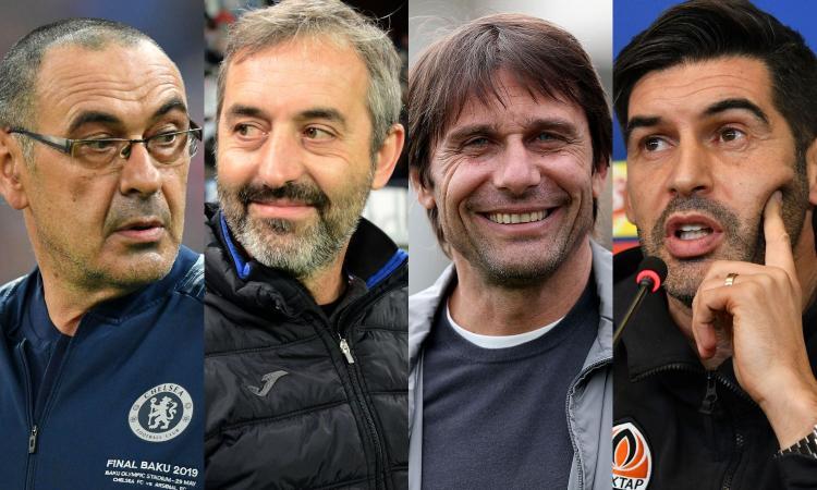 2019, la rivoluzione: dalla Juve alla Roma, saltano 8 allenatori e ds su 12