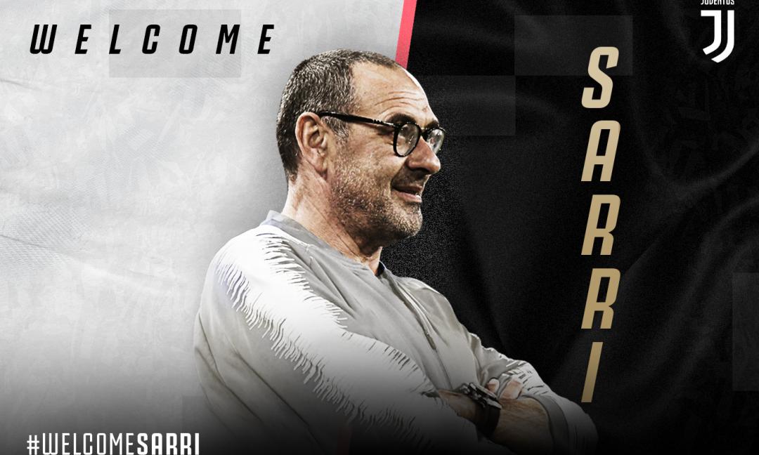 Sarri-Juve: è ufficiale. E con Conte ed Ancelotti...