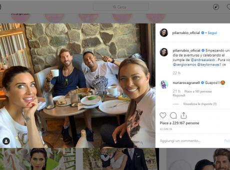 Real Madrid, Sergio Ramos in viaggio di nozze: spunta anche Keylor Navas