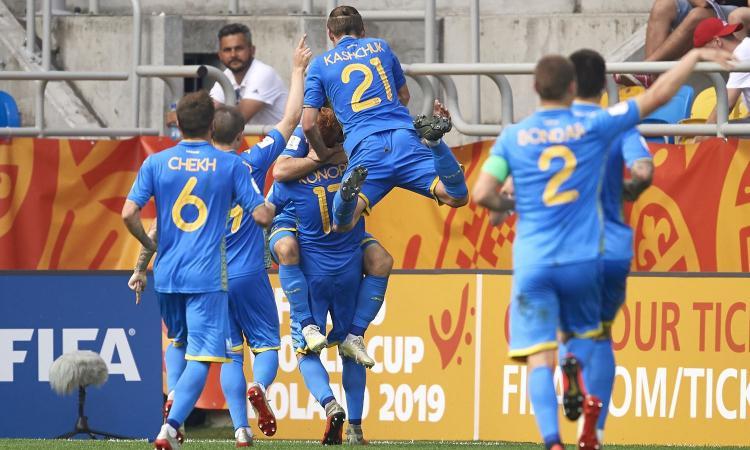 Mondiali Under 20: il sogno dell'Italia si spegne in semifinale, l'Ucraina vince 1-0. Annullato col VAR il pari al 92'