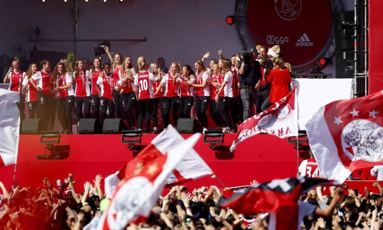 L'Ajax fa un'altra rivoluzione: accordo sulla parità contrattuale fra uomini e donne