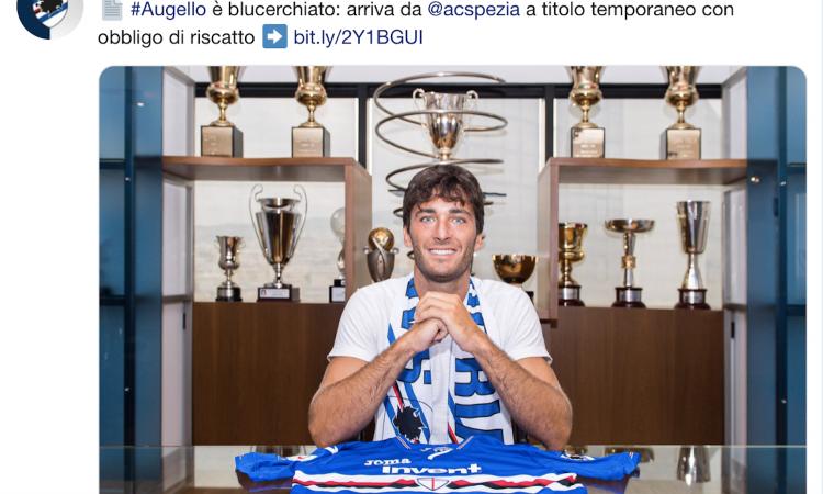 Samp, Augello: 'Un sogno che si realizza'