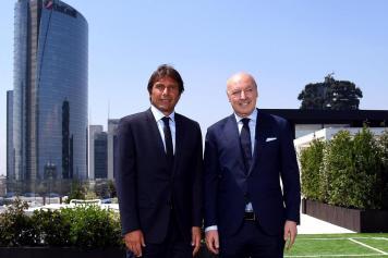 Conte Marotta Inter ANSA
