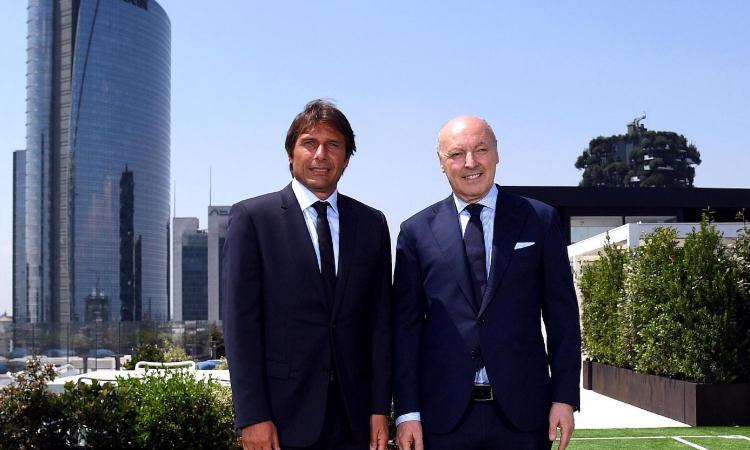 Inter, Marotta-Conte: confronto ad Appiano, la dirigenza chiede calma