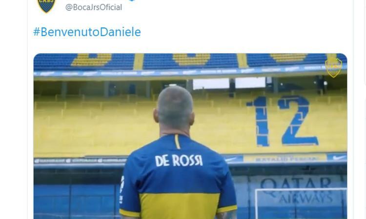 Il Boca Juniors accoglie De Rossi con un VIDEO da brividi: 'Realizzo un sogno, mi sento a casa'