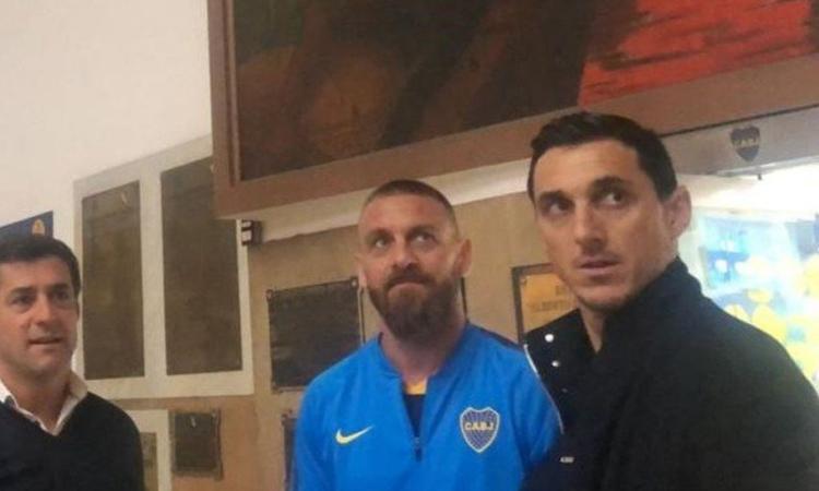 UFFICIALE, Il Boca Juniors annuncia De Rossi: 'E' già qui'