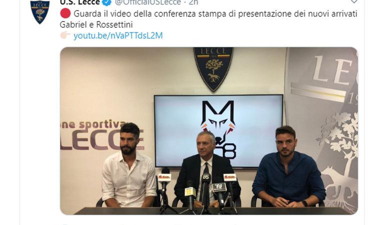 Lecce, ecco Gabriel: 'Al Milan zero continuità, ora il mio miglior momento della carriera'