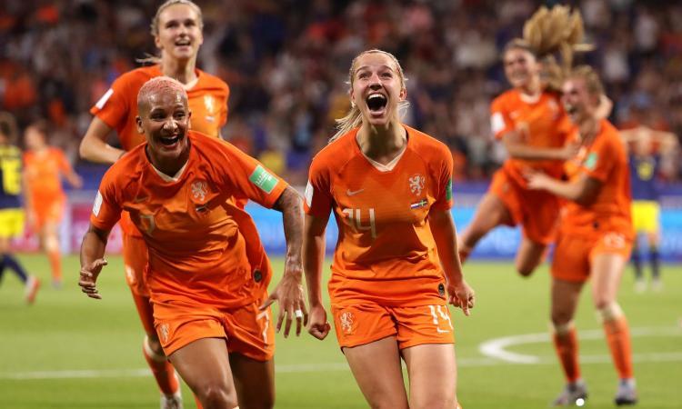 Mondiali femminili, Olanda-Svezia 1-0: orange in finale