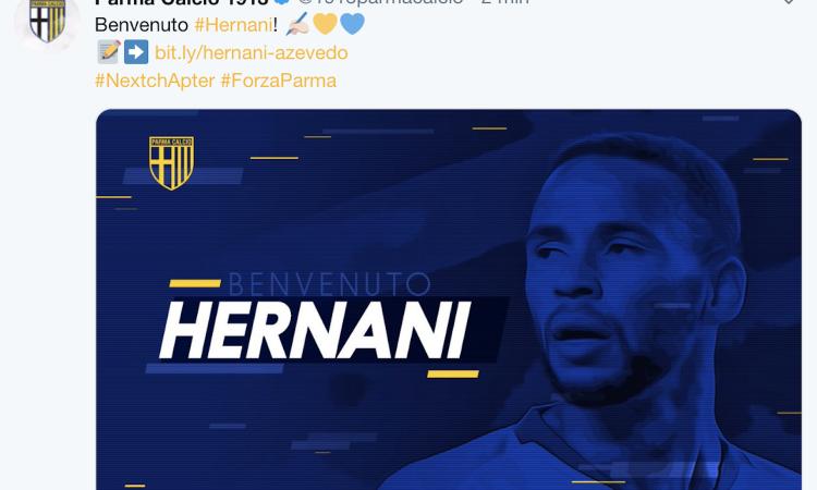 Parma, Hernani si presenta: 'Farò il possibile per ripagare la fiducia. Sul mio ruolo...'