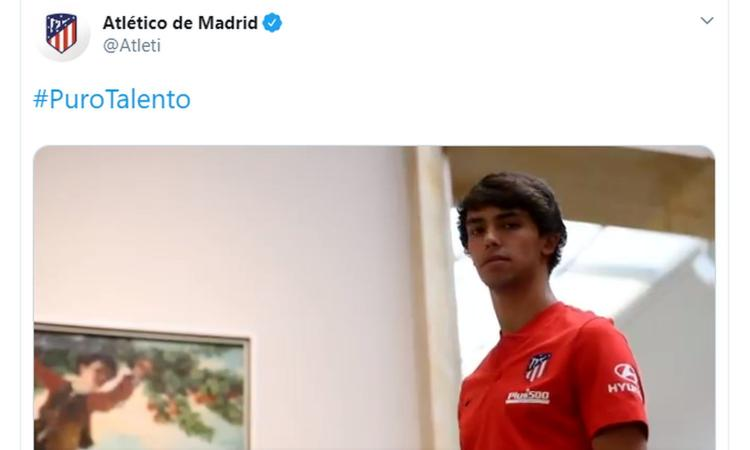 Atletico Madrid, UFFICIALE: arriva Joao Felix per 126 milioni di euro