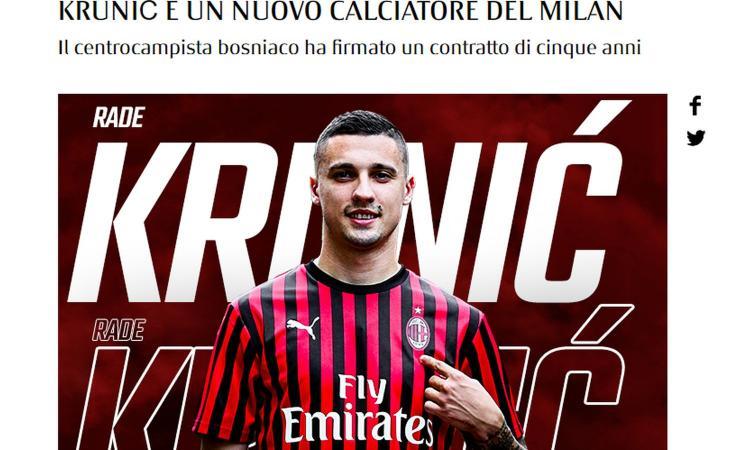 Milan, ecco quand'è la conferenza stampa di presentazione di Krunic e Theo Hernandez